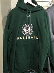 2020 Woodchucks Under Armour Green Hoodie
